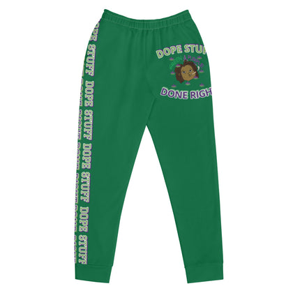"""Dope Stuff Done Right X Big Head B.K."" Women's Joggers"