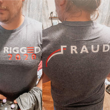 Load image into Gallery viewer, Rigged 2020 | Election Fraud (Michigan Voting Tabulation) - Tee Shirt