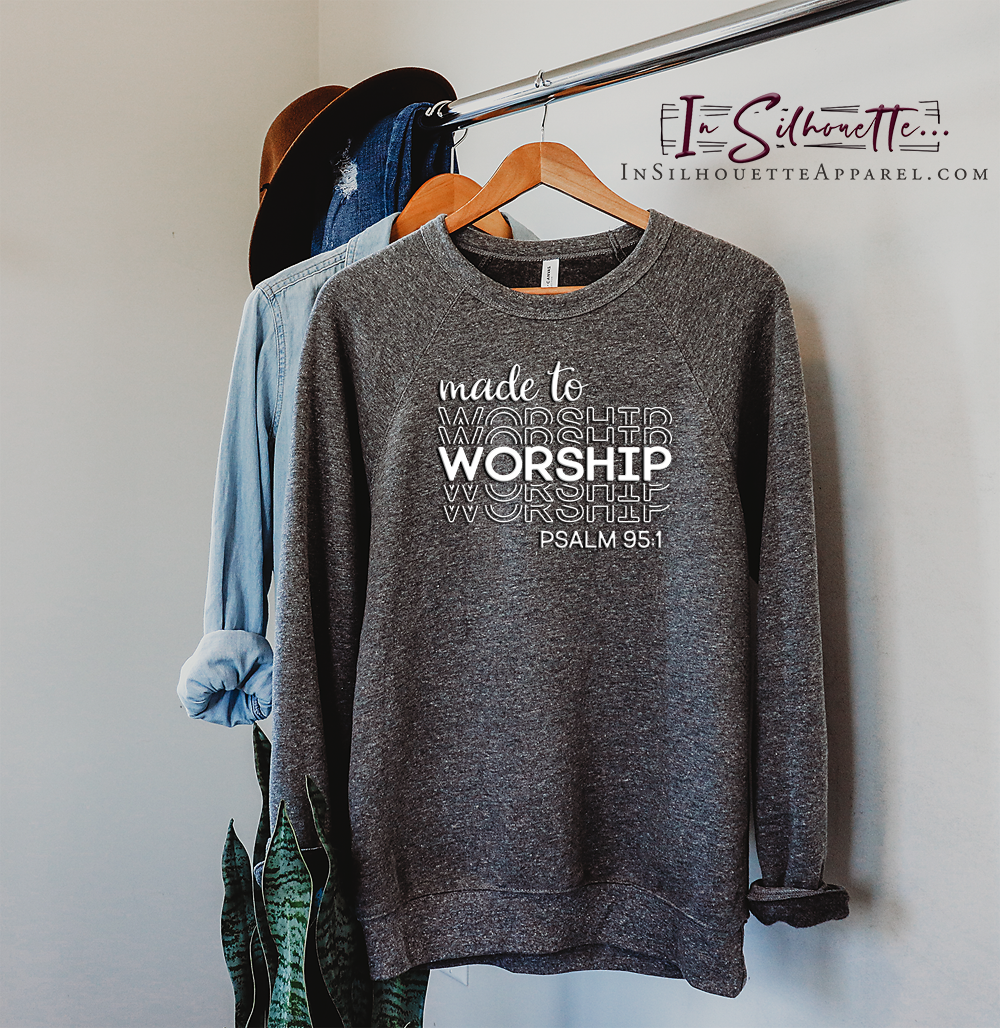 Made to Worship - Pullover Sweater