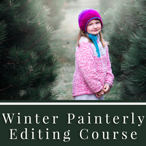 Winter Painterly Tutorial and Actions