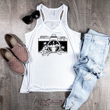 Load image into Gallery viewer, Camera - Ladies Razorback Tank