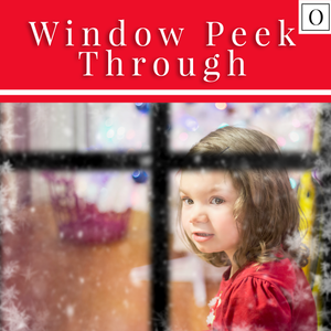 Window Peek Through Window Frame Overlay - 2020