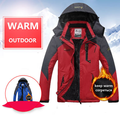 Winter Fleece Hiking Jacket Camping Trekking Rain Coat