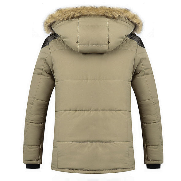 Men's Winter Warm Thick Hooded Down Coat