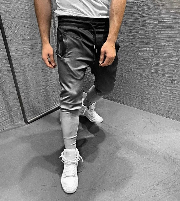 Gradient Color Hip Hop Men Pants