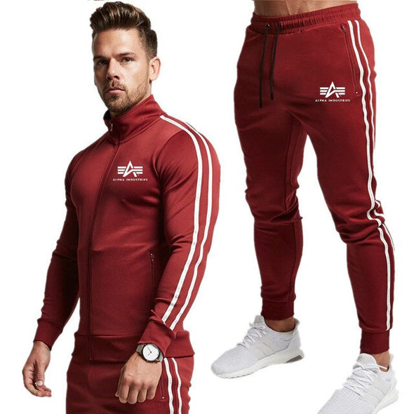 Men's sportswear suit 2020 new autumn and spring men's sportswear suit