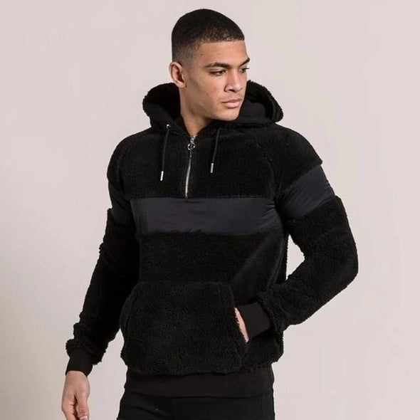 Explosive men's long-sleeved hoodie Fleece Fashion Hoodies