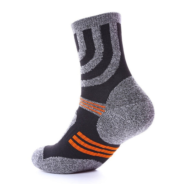 2 Pairs Unisex Sports Thicken Thermal Wool Pile Cashmere Men