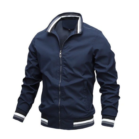 Casual Bomber Flight Jackets Men Autumn Fashion Jacket