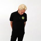 Suga Show Logo Black Polo