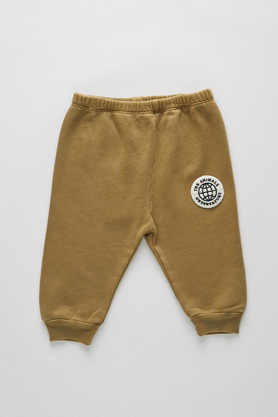 baby dromedary jersey pants - green planet