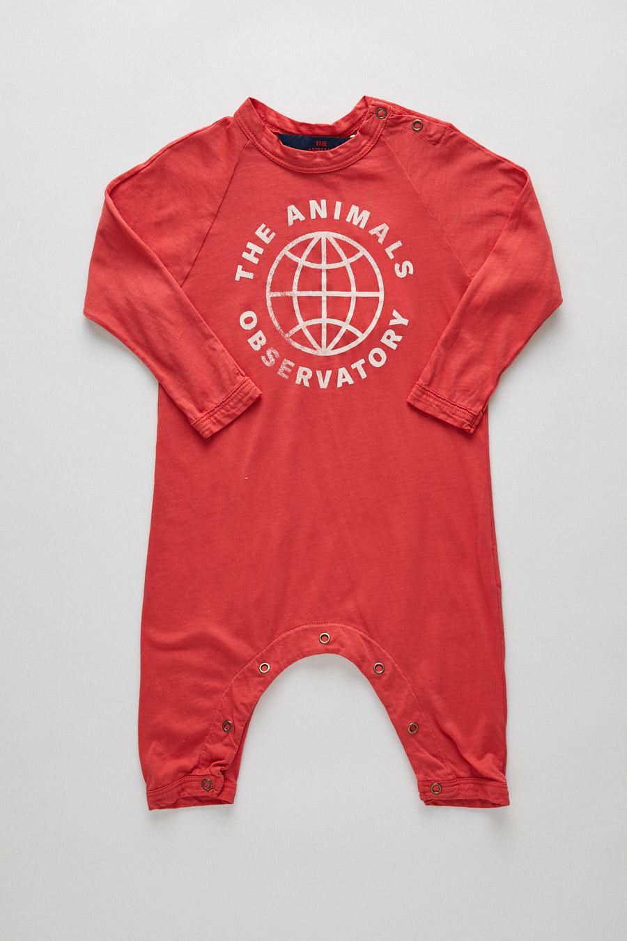 baby planet pyjama - red