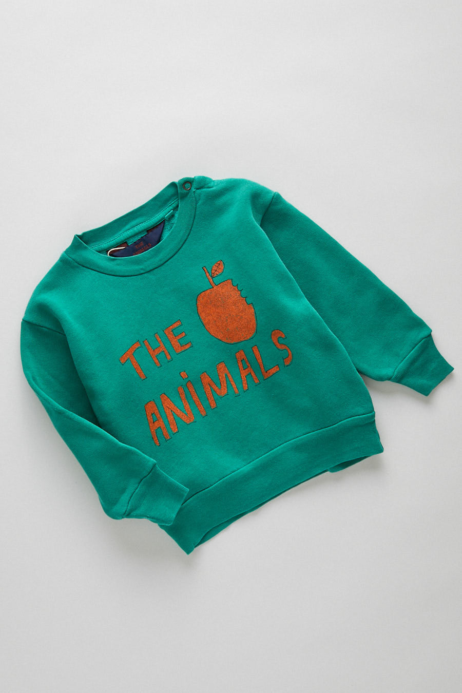 baby sweatshirt - green apple