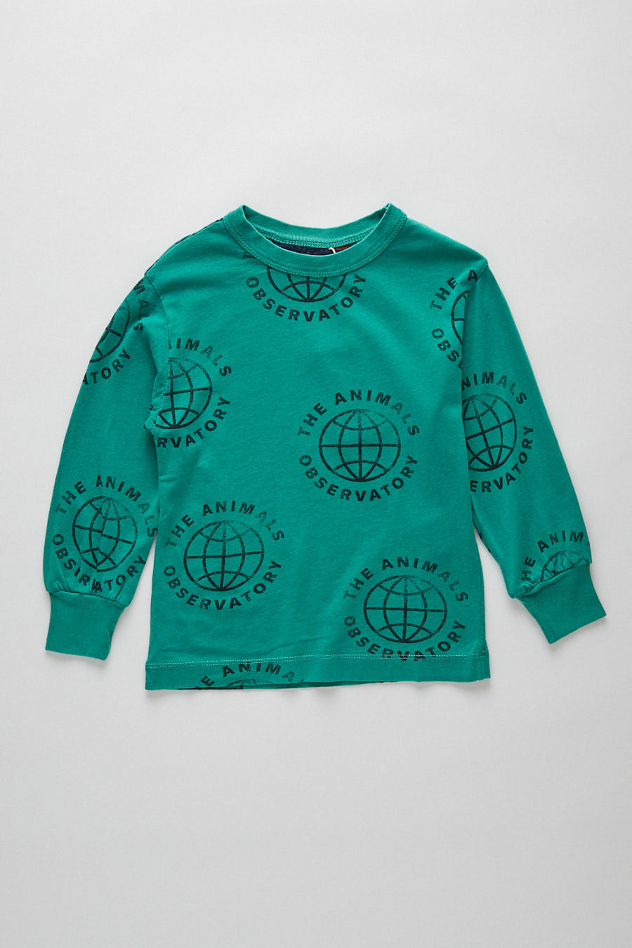 kids dog t-shirt - planet green
