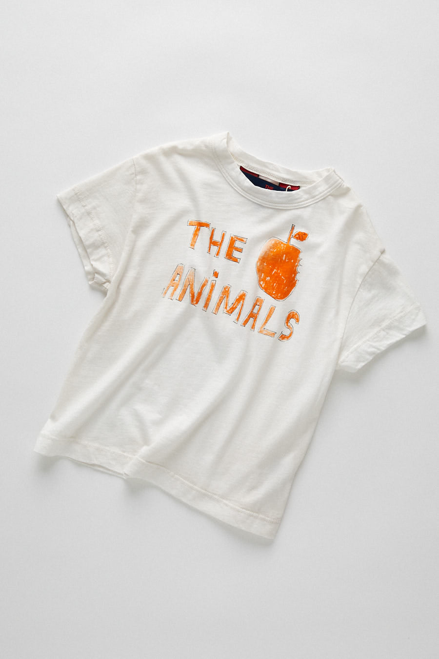 kids rooster t-shirt - white apple