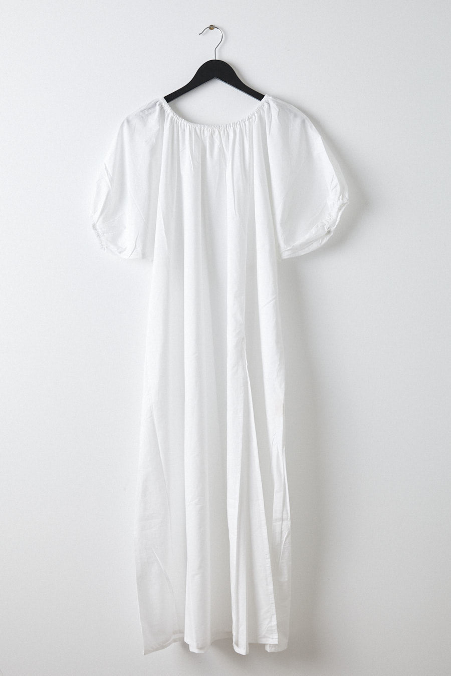 valdis off the shoulder dress- white