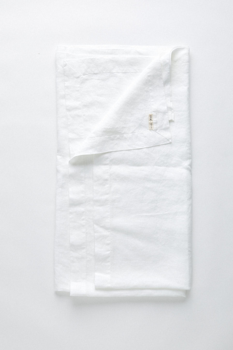 pure linen wrap- white