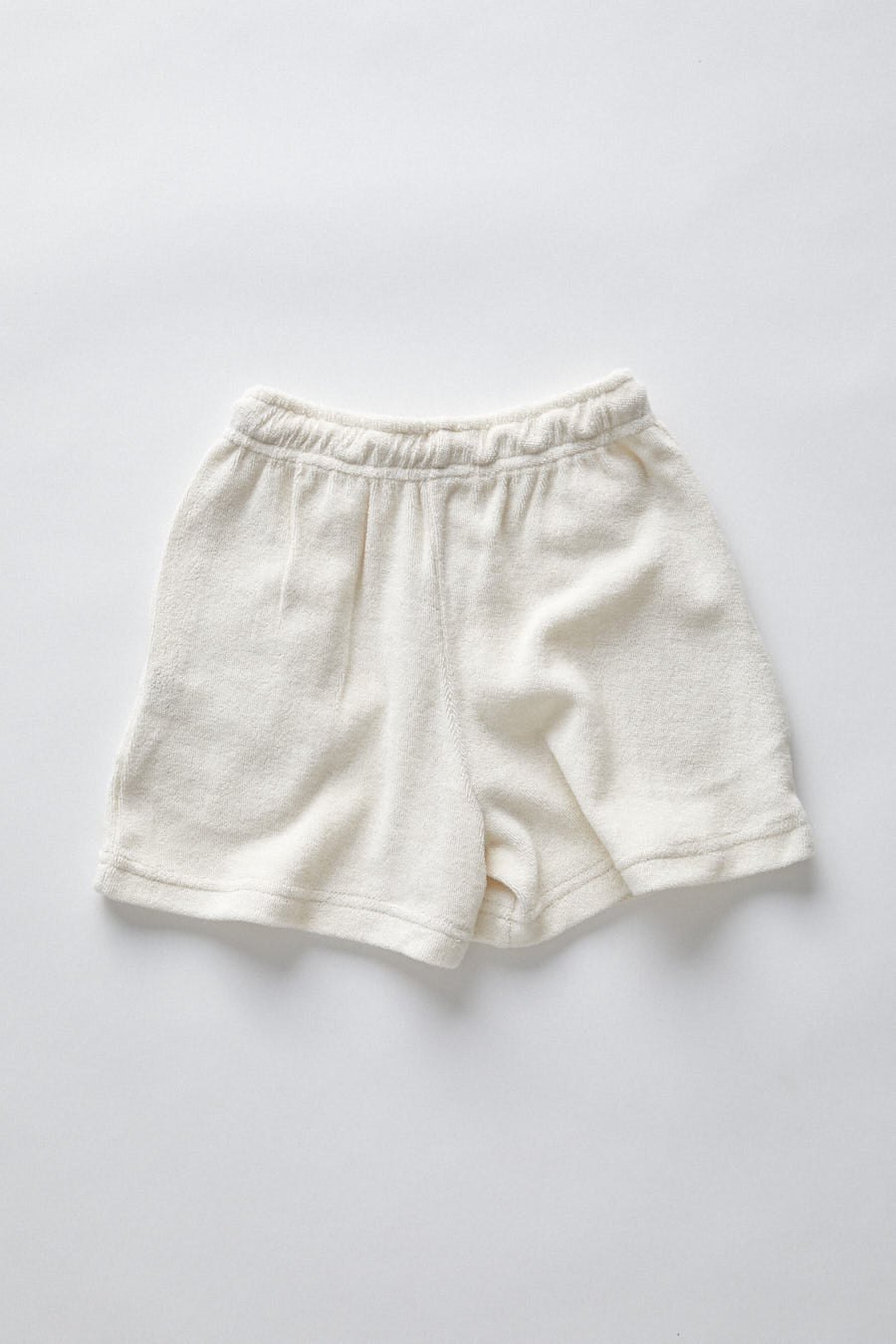 terry long shorts- natural
