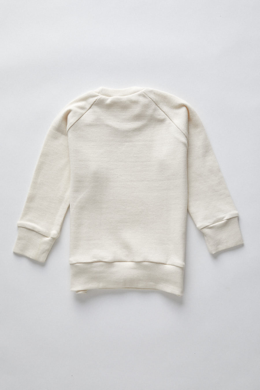 long sleeve pullover- natural