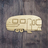 Vintage Camper | Airstream | Laser Wood Cutout