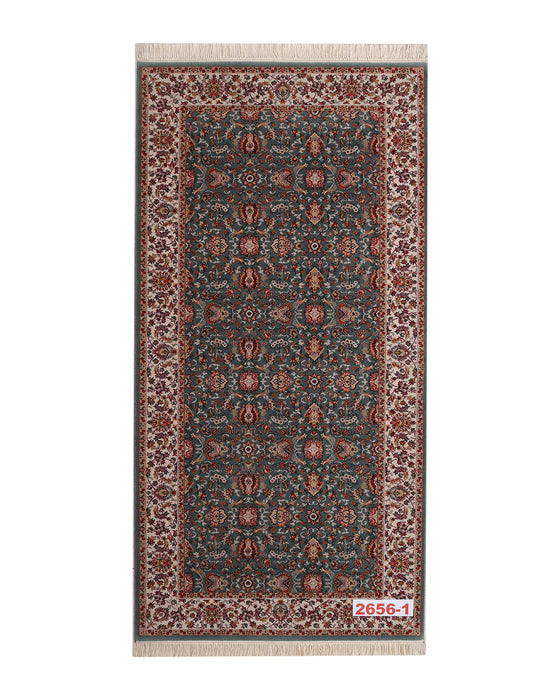Apadana Machine Persian Runner  2656-1 Rug 200cm x 100cm