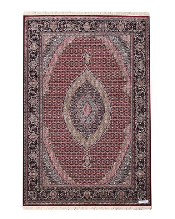 Apadana Tabriz 4379-T6R Machine Made Rug