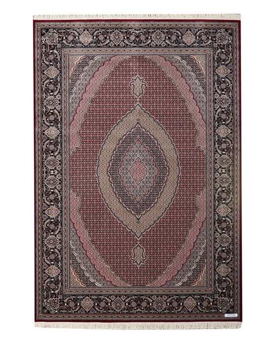 Apadana Tabriz 4379-T9R Machine Made Rug
