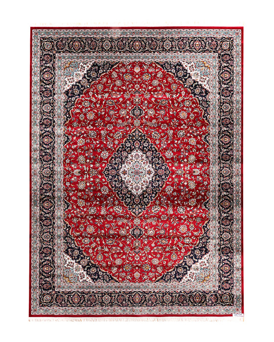Apadana kashan 4381-T12R Machine Made Rug