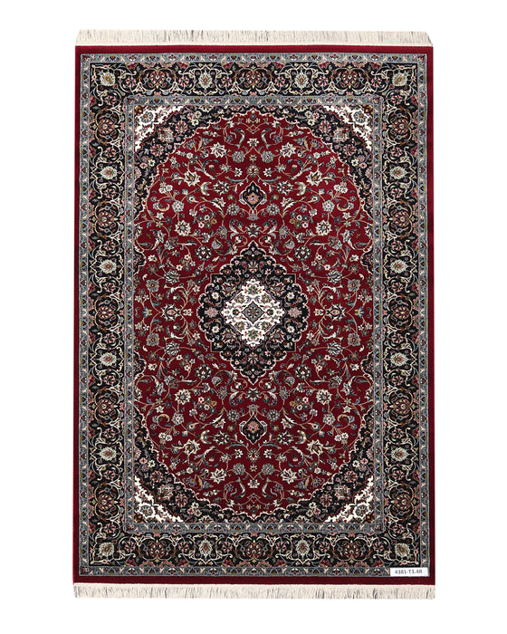 Apadana Kashan 4381-T3.4R Machine Made Rug