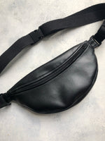 Black Vegan Leather