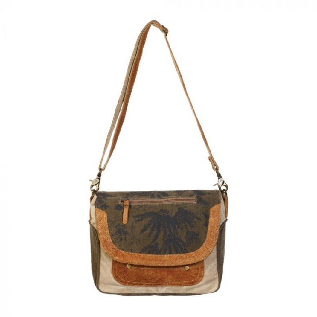 1228 Myra Classic Flap Over Messenger Bag