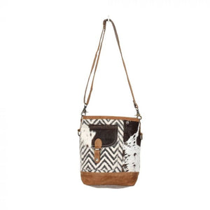 1341 Myra Moire Pocket Shoulder Bag
