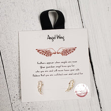 Load image into Gallery viewer, Angel Wing Earrings