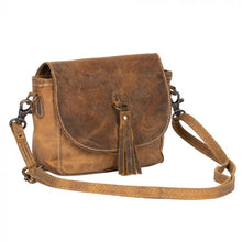 Load image into Gallery viewer, 2134 Myra Whispering Woods Leather Bag