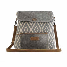 Load image into Gallery viewer, 2557 Myra Grainy Gray Shoulder Bag