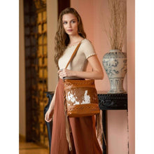Load image into Gallery viewer, 2616 Myra Fashion Creed Leather & Hairon Bag