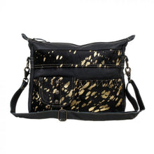 Load image into Gallery viewer, 2620 Myra Modern Leather and Hairon Bag