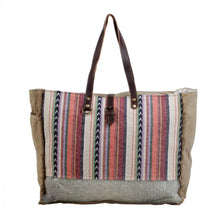 Load image into Gallery viewer, 2803 Myra Pastel Hues Weekender Bag