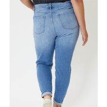 Load image into Gallery viewer, Plus Kancan Leopard Patch High Rise Skinny Jeans