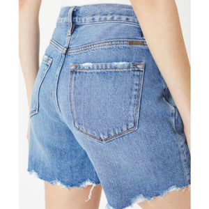 Kancan High Rise Fray Hem Shorts