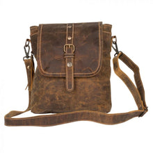 Load image into Gallery viewer, 2168 Myra Brown Beauty Leather Bag