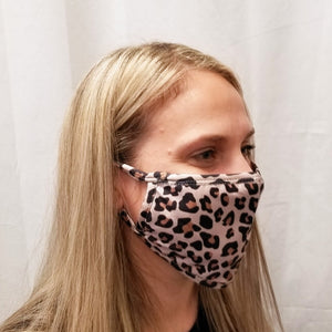 Leopard Mask with Filter Pocket