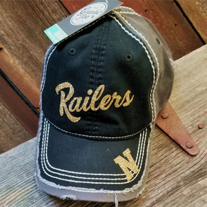 Glitter Railers - Distressed Cap