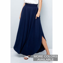 Load image into Gallery viewer, Solid Maxi Skirt