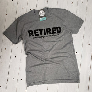 Retired Short Sleeve Unisex Tee