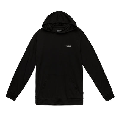 Color:Black-Florence Recover Hooded Long Sleeve Shirt