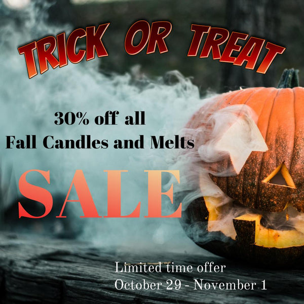 30% FALL CANDLE SALE