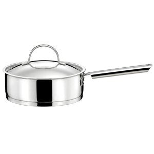 Couzon Cuisinox Elysee Sauté Pan with Lid 24cm