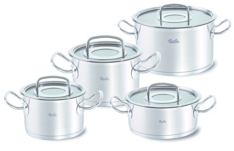 Fissler Original Pro  4 Piece Set with Glass Lids & Casserole