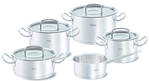 Fissler Original Pro  5 Piece Set with Glass Lids & Casserole